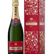 Piper Heidsieck Brut Champagner mit Windlicht